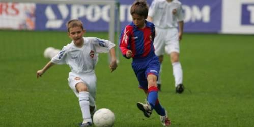 Юные футболисты ЦСКА